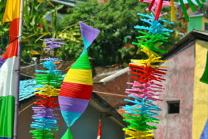 plastic straw crafts