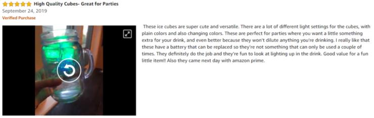 Lit Cubes Review