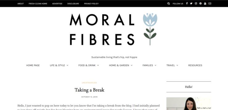 Moral Fibres