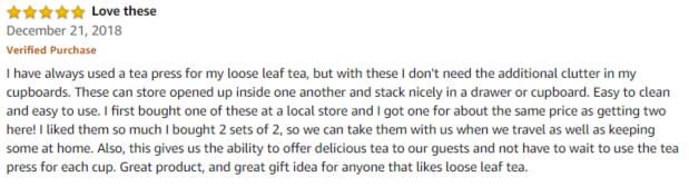 Fu Store Amazon review
