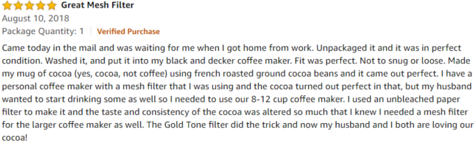 goldstone amazon review