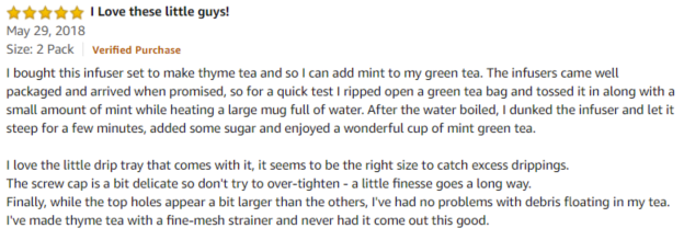 House Again Amazon review