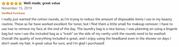 Robley Amazon review