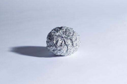 Aluminium foil ball
