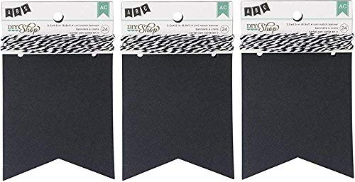 Chalkboard Notch Banner by American Crafts