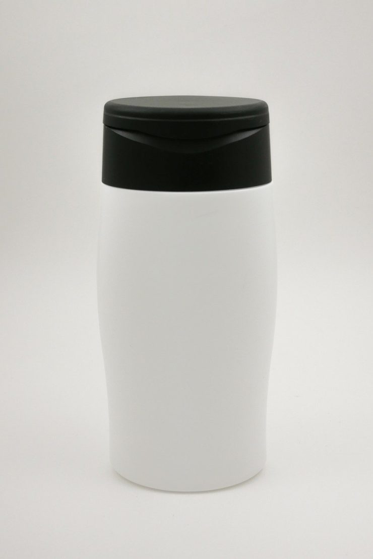 Reusable shampoo bottle