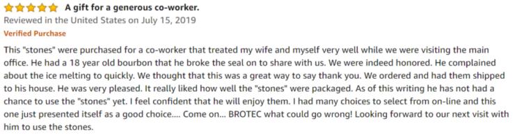 BROTEC amazon review
