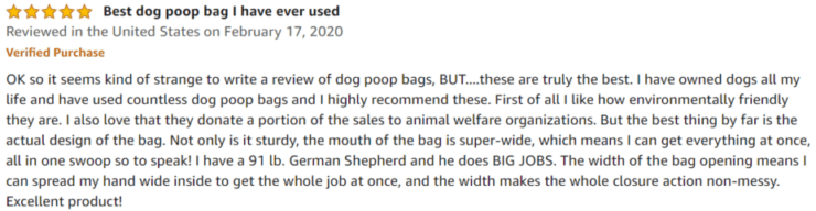 Give A Shit Amazon review
