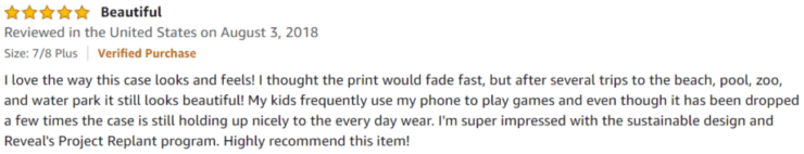 Reveal Cork Wood Phone Cases Amazon Review
