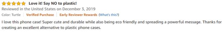 Wilma Designed Phone case Amazon review