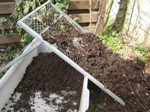Composting sieve