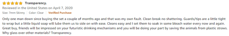 Alink Amazon Review