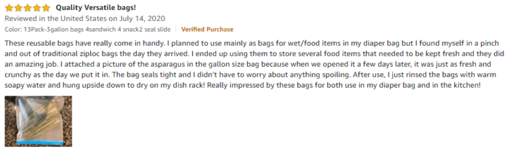 Baily Cheer Amazon Review