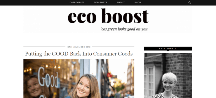 Eco boost hompage