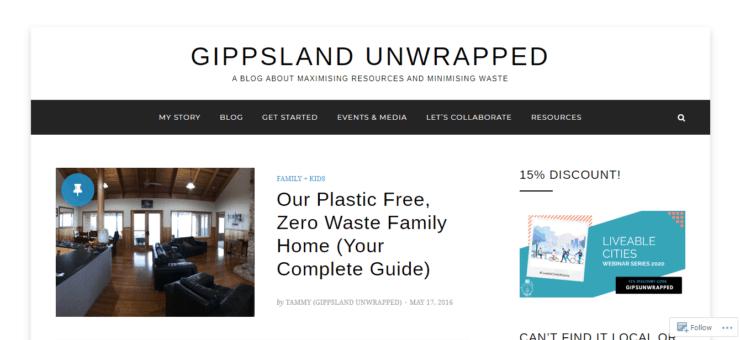 GIPPSLAND UNWRAPPED homepage