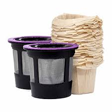 Reusable K cup and paper filters