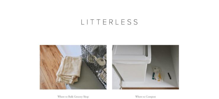 Litterless Homepage