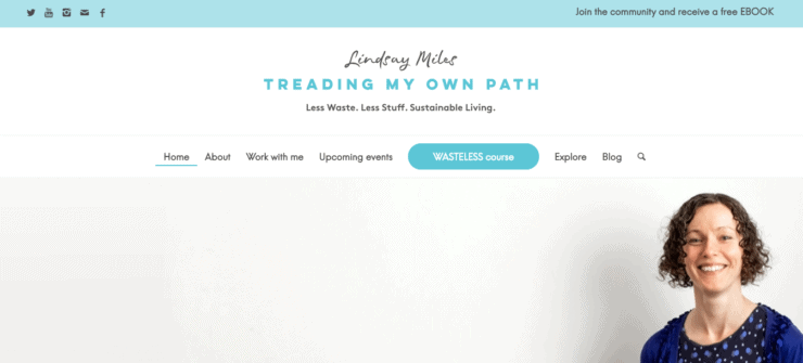 Treading My Own Path Homepage